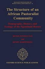 The Structure of an African Pastoralist Community (Research Monographs in Human Population Biology S, nr. 11)