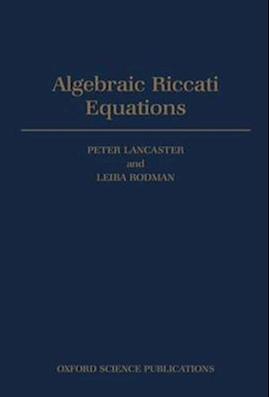 Algebraic Riccati Equations