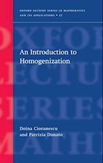 An Introduction to Homogenization
