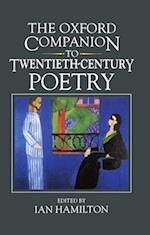 The Oxford Companion to Twentieth-Century Poetry in English (Oxford Companions)