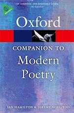 The Oxford Companion to Modern Poetry in English (Oxford Paperback Reference)