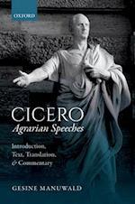 Cicero, Agrarian Speeches