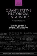 Quantitative Historical Linguistics (Oxford Studies in Diachronic and Historical Linguistics, nr. 26)