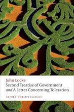 Second Treatise of Government and a Letter Concerning Toleration af John Locke