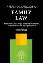 A Practical Approach to Family Law (A Practical Approach)
