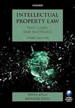 Intellectual Property Law af Tanya Aplin