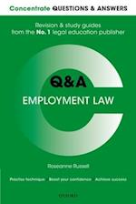 Concentrate Questions and Answers Employment Law (Concentrate Questions Answers)