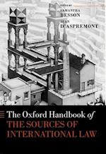 The Oxford Handbook of the Sources of International Law (Oxford Handbooks)