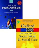Law for Social Workers & a Dictionary of Social Work and Social Care Pack af David Goosey, Helen Carr, Hugh Brayne Ba
