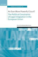 An Ever More Powerful Court? (Oxford Studies in European Law)