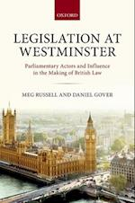 Legislation at Westminster