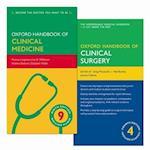Pack of Oxford Handbook of Clinical Medicine 9e and Oxford Handbook of Clinical Surgery 4e (Oxford Medical Handbooks)