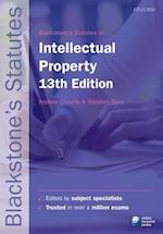 Blackstone's Statutes on Intellectual Property (Blackstone's Statute Series)