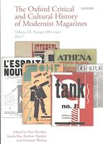 The Oxford Critical and Cultural History of Modernist Magazines (Oxford Critical Cultural History of Modernist Magazines, nr. 3)