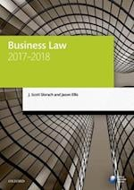 Business Law 2017-2018 (Legal Practice Course Manuals)