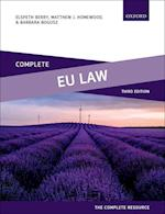 Complete EU Law (Complete..)