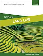 Complete Land Law (Complete..)