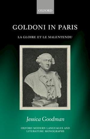 Bog, hardback Goldoni in Paris af Dr. Jessica Goodman
