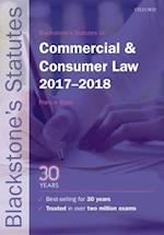 Blackstone's Statutes on Commercial & Consumer Law 2017-2018 (Blackstone's Statute Series)