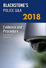 Blackstone's Police Q&A: Evidence and Procedure 2018 (Blackstone's Police Manuals)