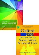 Law for Social Workers & a Dictionary of Social Work and Social Care Pack 2017 af John Harris, Helen Carr, David Goosey