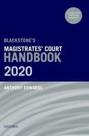Blackstone's Magistrates' Court Handbook 2020