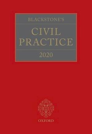 Blackstone's Civil Practice 2020