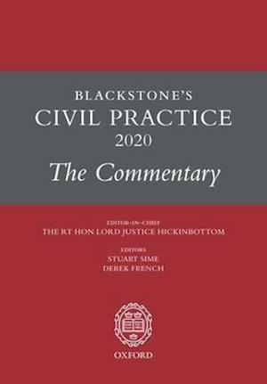 Blackstone's Civil Practice 2020: The Commentary