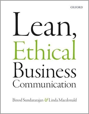 Bog, paperback Lean, Ethical Business Communication af Linda MacDonald