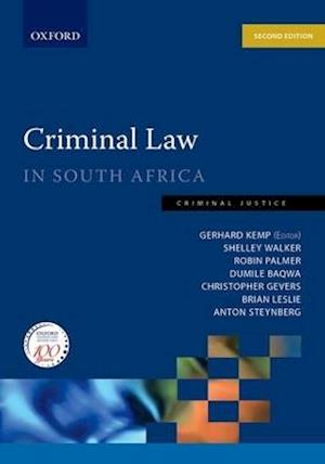 Criminal Law in South Africa: Criminal Law in South Africa
