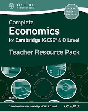 Complete Economics for IGCSE (R) and O-Level Teacher Resource Pack