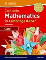 Complete Mathematics for Cambridge IGCSE Student Book (Core) af David Rayner