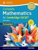 Complete Mathematics for Cambridge IGCSE Student Book af David Rayner