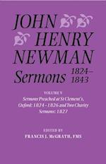 John Henry Newman Sermons 1824-1843 (John Henry Newman Sermons)