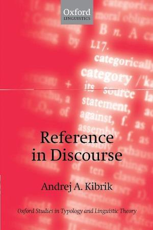 Reference in Discourse