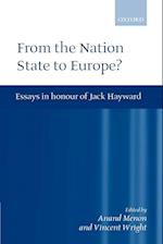 From Nation State to Europe?