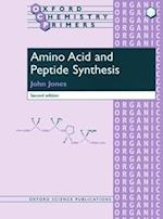 Amino Acid and Peptide Synthesis af John Jones