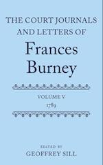 The Court Journals and Letters of Frances Burney (Court Journals Letters of Frances Burney 1786 1791)