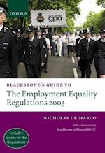 Blackstone's Guide to the Employment Equality Regulations 2003 (Blackstone's Guide)