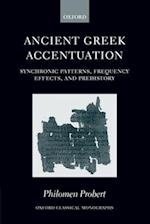 Ancient Greek Accentuation (Oxford Classical Monographs)