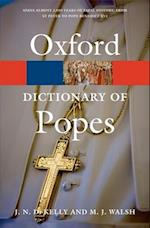The Oxford Dictionary of Popes (Oxford Paperback Reference)