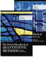 The Oxford Handbook of Quantitative Methods, Two-Volume Set (Oxford Library of Psychology)