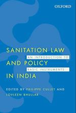 Sanitation Law and Policy in India