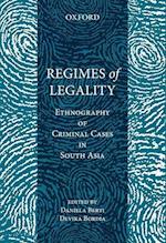 Regimes of Legality af Daniela Berti