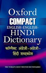 Compact English-English-Hindi Dictionary