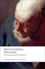 Pere Goriot af Honore De Balzac, A J Krailsheimer