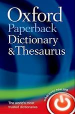 Oxford Paperback Dictionary & Thesaurus (UK bestselling dictionaries)
