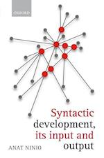 Syntactic development, its input and output