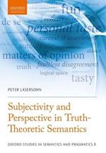 Subjectivity and Perspective in Truth-Theoretic Semantics af Peter Lasersohn