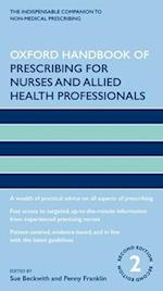 Oxford Handbook of Prescribing for Nurses and Allied Health Professionals (Oxford Handbooks in Nursing)